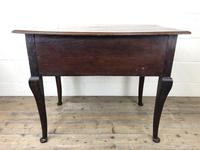 Antique 19th Century Carved Oak Lowboy Side Table (17 of 17)