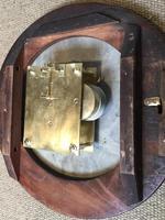 Mahogany Fusee Dial Clock (18 of 19)
