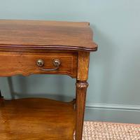 Small Edwardian Mahogany Antique Side Table (2 of 5)