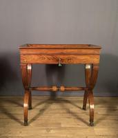 Stunning French Charles X Walnut Library Writing Table (2 of 16)