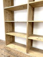 Large Vintage Pine Display Shelves (4 of 11)