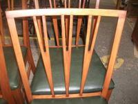 Set of 4 Retro Teak Dining Chairs (2 of 3)