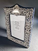 Silver Mounted Victorian Mirror (5 of 5)