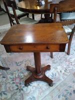 Georgian Octagonal Lamp Table