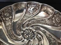Antique Edwardian Silver Art Nouveau Dish/bowl - 1903 (3 of 5)