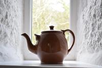Large Late 19th Century Stoneware Teapot (2 of 9)