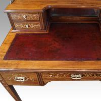 Edwardian Inlaid Rosewood Desk (8 of 11)