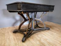 19th Century Art & Crafts Library Table (7 of 12)