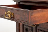 Good Quality Carved Walnut Cabinet (8 of 8)