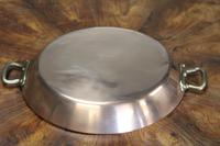 19th Century French Copper Prospector Pan (3 of 5)