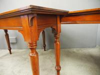 Pair of Large Victorian Mahogany Side Tables (6 of 9)