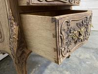 Stylish French Bleached Oak Commode Chest (8 of 20)