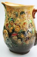 Fine & Large Royal Doulton Dickens Dream Novelty Jug by Noke c.1933 (2 of 10)