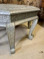 Indian Silvered Coffee Table (4 of 6)