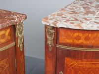Matched Pair of French Inlaid Corner Cabinets (7 of 18)