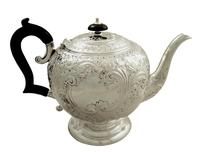 Antique Victorian Sterling Silver Teapot 1896 (10 of 10)