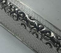 Superb Silver William IV Larger Snuff Tobacco Box Edward Smith 1835 (5 of 9)