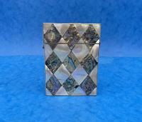Victorian Mother of Pearl & Abalone Card Case (4 of 11)