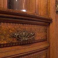 Large Fine Antique Wardrobe Compactum, English, Walnut, Gillow & Co, Victorian (10 of 12)