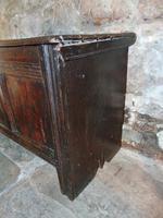 Early Oak Paneled Front Coffer (3 of 7)