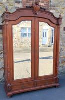 Large Antique French Walnut Armoire / Wardrobe (2 of 14)
