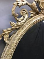 19th Century Ornate Oval Wall Mirror (16 of 16)