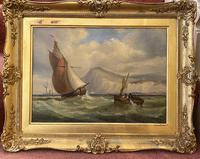 James Edwin Meadows - Attractive Pair of Marine Oil Paintings (6 of 6)