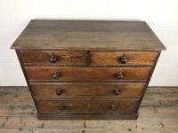 19th Century Antique Oak Chest of Drawers (10 of 12)