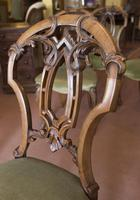 4 Very Pretty Walnut Dining Chairs (2 of 4)