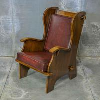 Pair of Elm Lambing Chairs (4 of 8)