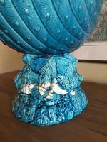 Burmantofts Faience Turquoise Glazed Shell Jardiniere (10 of 12)