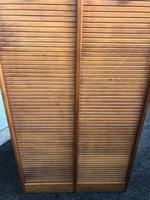 Antique Oak Double Filing Cabinet (5 of 10)