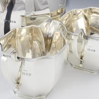 Art Deco Sterling Silver Tea Set Mappin & Webb 1932 (7 of 8)