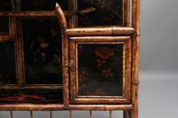 Impressive 19th Century Bamboo Cabinet (3 of 25)