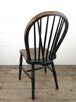 Set of Four 19th Century Ash and Elm Hoop Back Chairs (13 of 13)