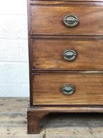 Antique George III Mahogany Chest of Drawers (10 of 12)