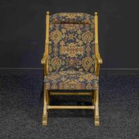 Arts & Crafts Oak Armchair (2 of 7)
