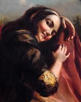 Oil Painting of Kate Kearney - Irish Beauty (5 of 9)