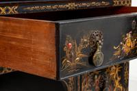 Queen Anne Style Chinoiserie Dressing Table & Chair (13 of 22)