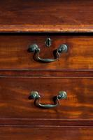 George III Period Straight Fronted Mahogany Chest of Drawers (3 of 3)
