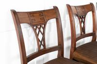 Set of Eight 19th Century Regency Mahogany Dining Chairs (10 of 11)