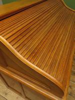 Antique Golden Oak Roll Top Writing Desk, Scandanavian A B Bobin & Mobelfabriken (12 of 15)