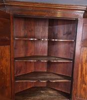 18th Century Double Height Corner Cupboard Superb Patina (7 of 8)