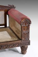 Mid 19th Century Indo-Portuguese Rosewood Sofa (5 of 9)