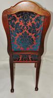 Pair of 18th Century Dutch Walnut Cabriole Leg Chairs (6 of 8)