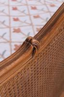 King Size Louis XV Style Caned Bed (8 of 9)