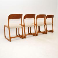 Set of 4 Danish Teak Vintage Dining Chairs 1960's (11 of 12)