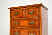Georgian Style Yew Wood Chest of Drawers c.1940 (3 of 9)
