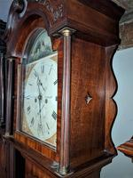 Early 19th  Century Mahogany Scottish Long Case Clock (2 of 5)