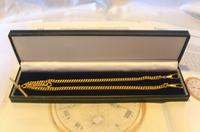 Vintage Pocket Watch Chain 1970 12ct Gold Plated Curb Link Albert With T Bar (10 of 10)